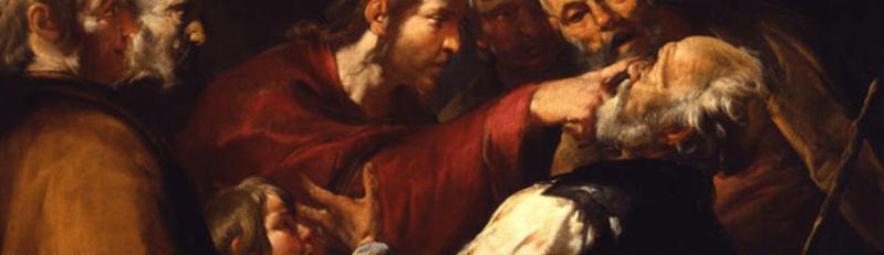 Assereto's Christ Healing the Blind Man