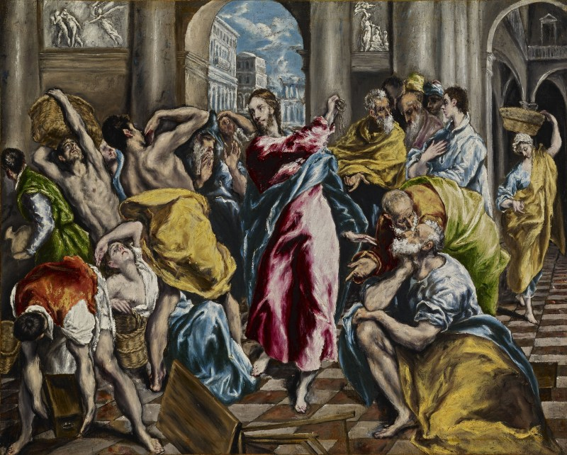 El Greco's Cleansing of the Temple