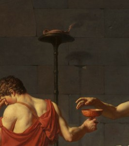 Detail from David's Death of Socrates