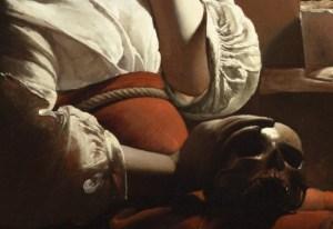 detail from De La Tour's Magdalene