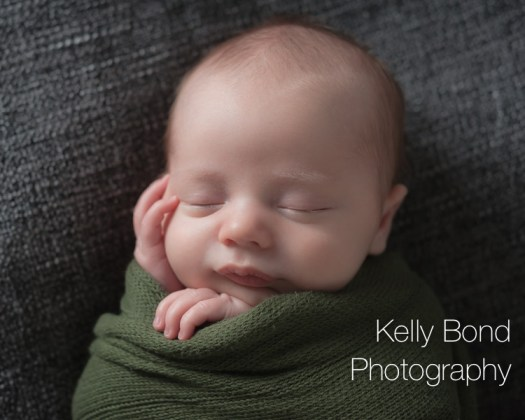 Newborn photography of baby in Aylesbury studio