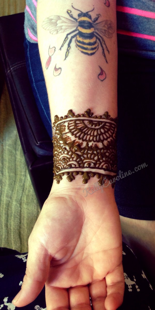 20 Mehndi Arm Cuff Tattoos For Men Ideas And Designs