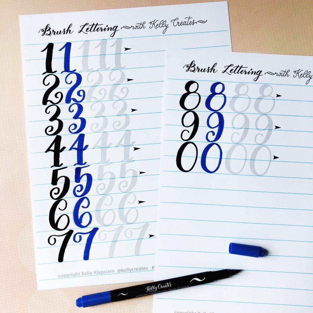 Free Numbers Worksheet Kelly Creates