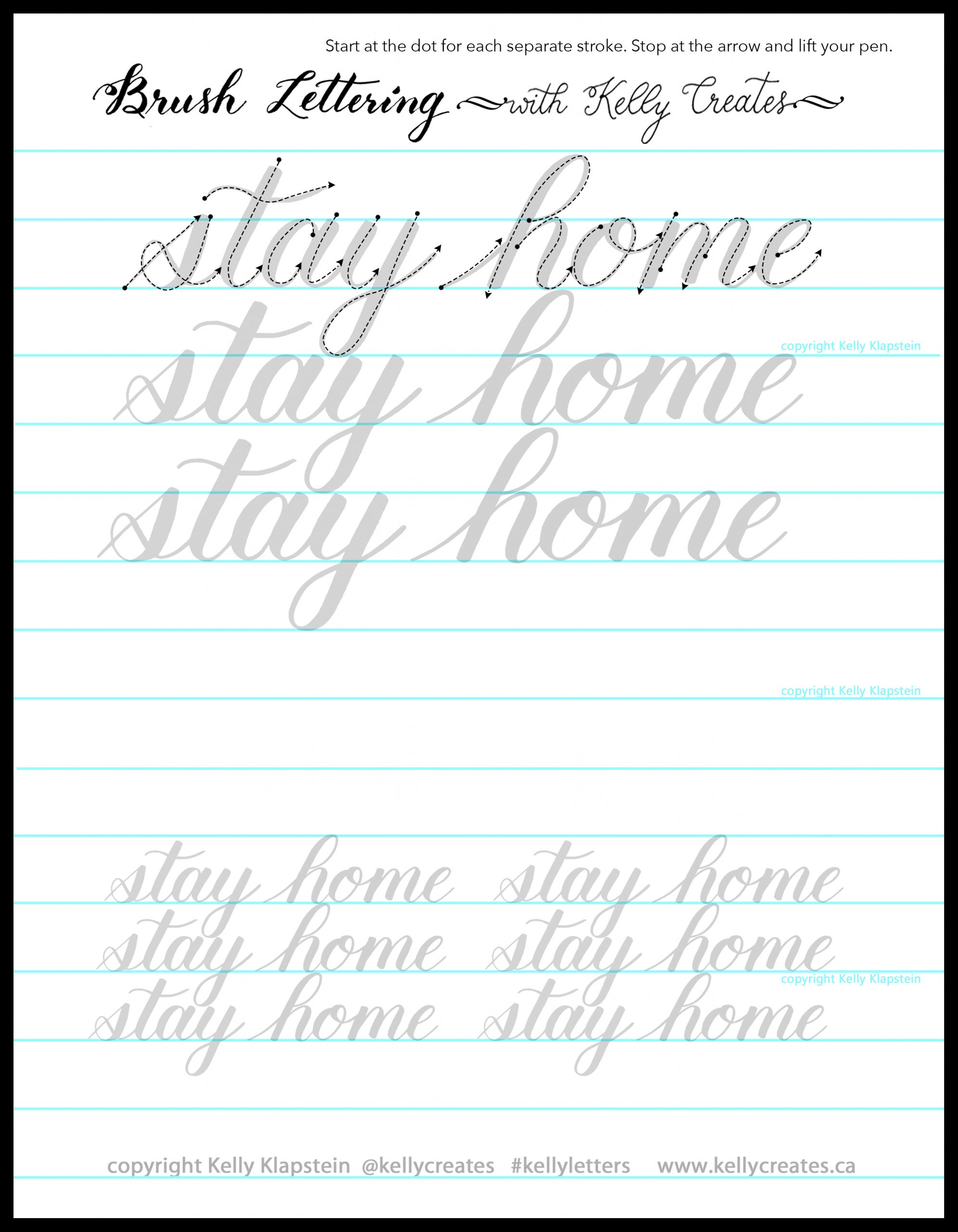 April Newsletter Amp Stay Home Tracing Worksheet Kelly