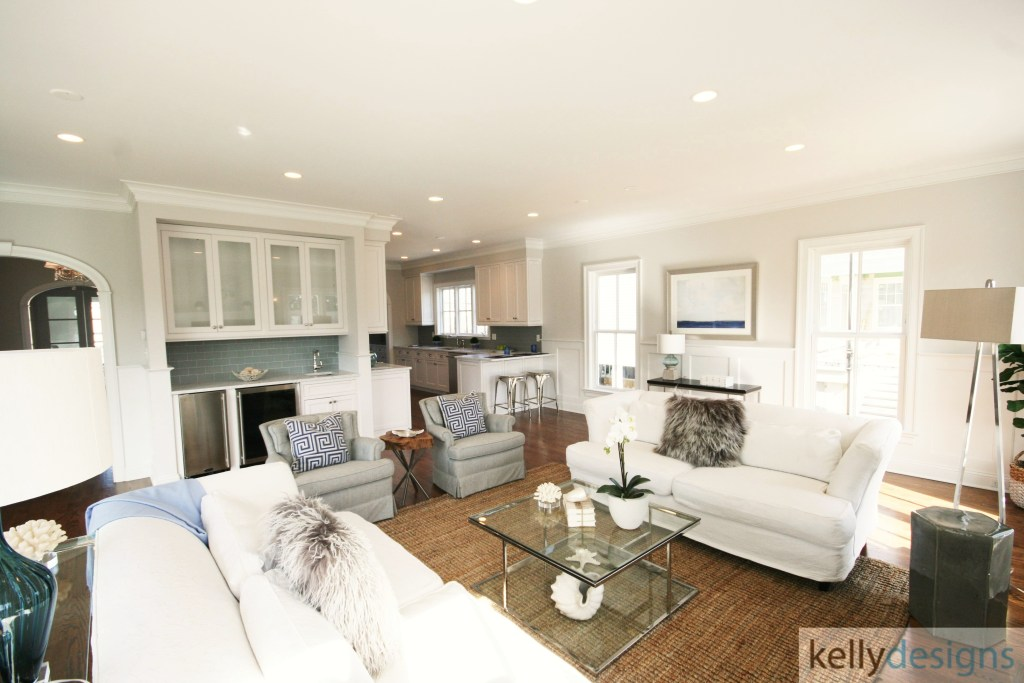 Rockin it on Rowland Staging - Great Room - Home Staging by kellydesigns