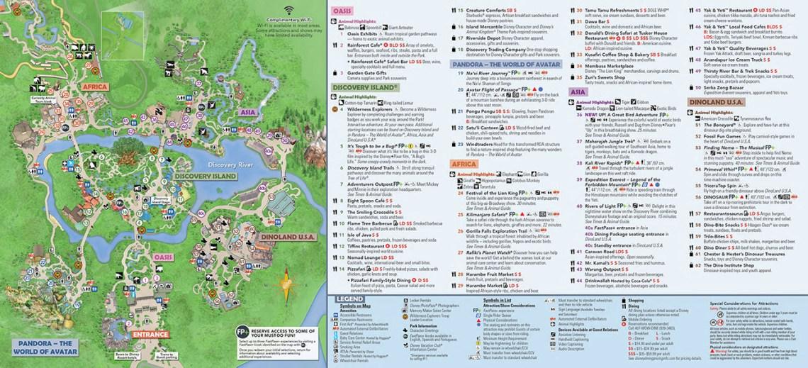 Animal Kingdom Map Walt Disney World - Updated November 2019! on disney world map pdf, printable disneyland map 2013 pdf, hong kong disneyland map pdf, downtown dallas map pdf, kings island map pdf, downtown disney map pdf, california disneyland map 2013 pdf, disneyland attraction map detailed pdf,