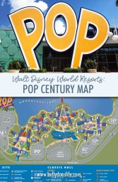 Pop Century Map at Walt Disney World - Walt Disney World ...