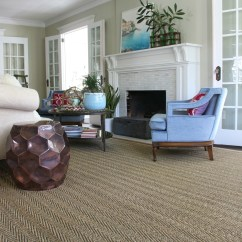 Rug For Living Room Photos Of Rooms With Leather Sofas Solution Custom Cut Kelly Elko Love The Three Sets French Doors In This Beautiful And Neutral Seagrass