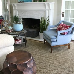 Rug For Living Room Best Colors Walls Solution Custom Cut Kelly Elko Beautiful In Shades Of Blue Love The Seagrass And Vintage Velvet