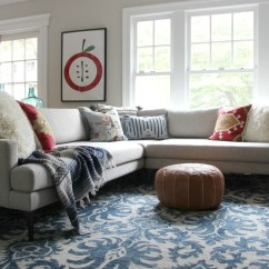 What Size Rug For Living Room Sectional Picture Wall The Search Is Over And Tips Getting Right Kelly Elko I Love Colorful Paired With My Neutral Sofa
