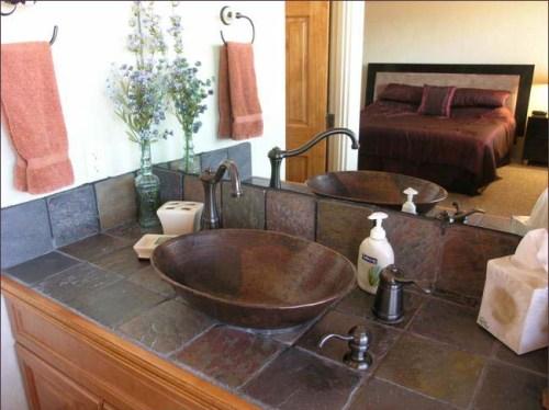 Bathroom Tile countertops