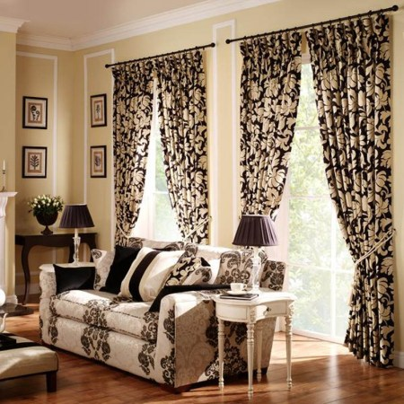 Curtain Designs for Your Living Room