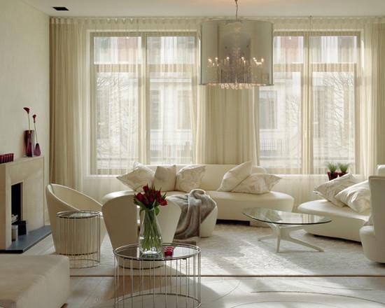 Curtain Ideas for Living Room Modern