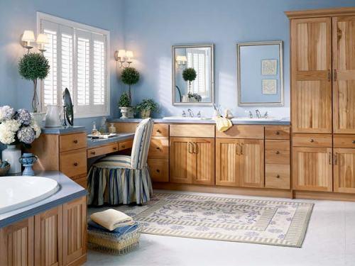 Custom Made Bathroom Cabinets