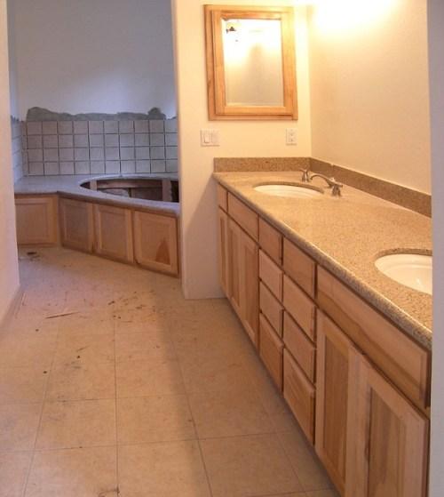 Bathroom Custom Cabinet Designs