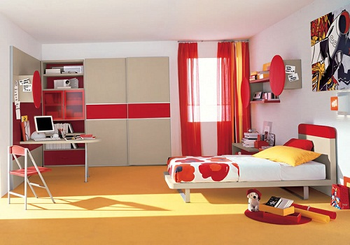Colorful Teen Bedroom Furniture