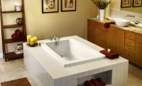 Soaking Tubs for Small Bathrooms - Home Design Tips