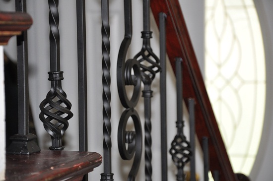 Wrought Iron Spindles for Stairs