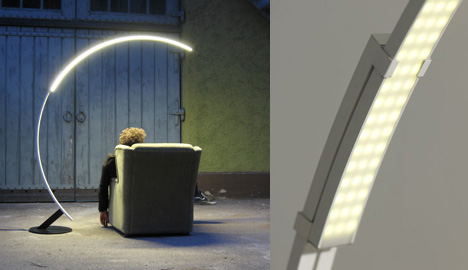 Troja Arc Lamp by Hans and Franz