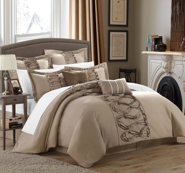 and Brown Comforter Sets
