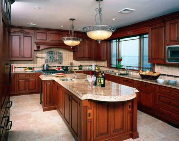 What Colors Paint Goes with Cherry Wood Cabinets