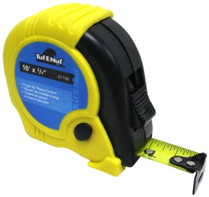 16′ x 3/4″ Rubber Jacket Tape Measure