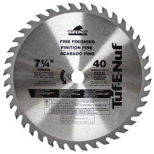 7-1/4″ 40T ATB Fine Finishing Blade – 04324