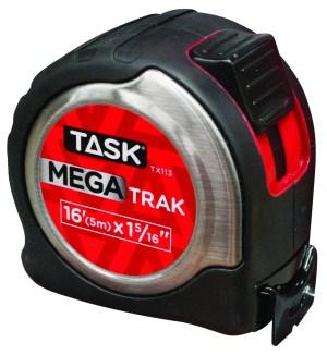 16′ (5m) x 1-5/16″ MegaTrak Stainless Steel Tape Measure