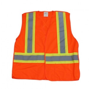 CSA Class 2 Standard Safety Vest – Orange
