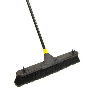 Quickie® Bulldozer™ 24 inch Smooth Surface Pushbroom