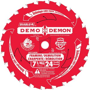Diablo Demo Demon Blade 7-1/4 Inch