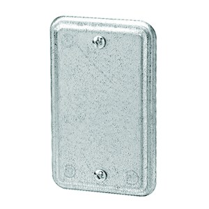 1-Gang Utility Box Cover Blank