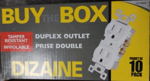 Buy The Box (10 pack) – Duplex Outlet Tamper Resistant