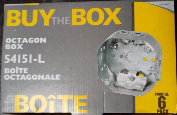 Octagon box at Kelly Lake