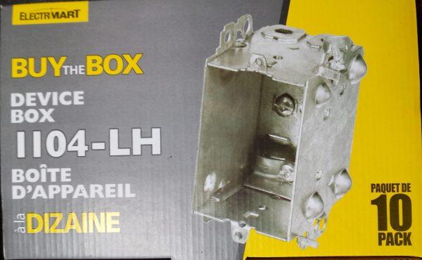 device box at Kelly Lake