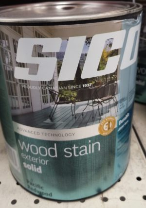 Sico – Exterior Wood Stain