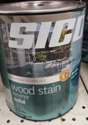 Sico – Exterior Wood Stain