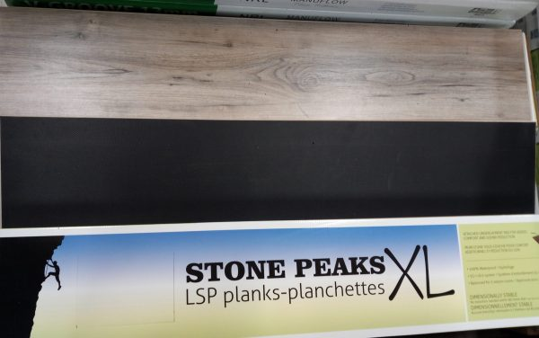 Stone Peaks XL at Kelly Lake