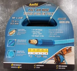 Amflo Air Hose- 3/8″ x 50′