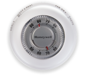Honeywell Non programmable Thermostat Round