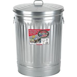 Behrens- Galvanized Trash Can