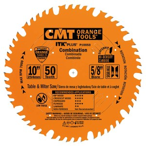 CMT – COMBINATION CIRCULAR SAW BLADE