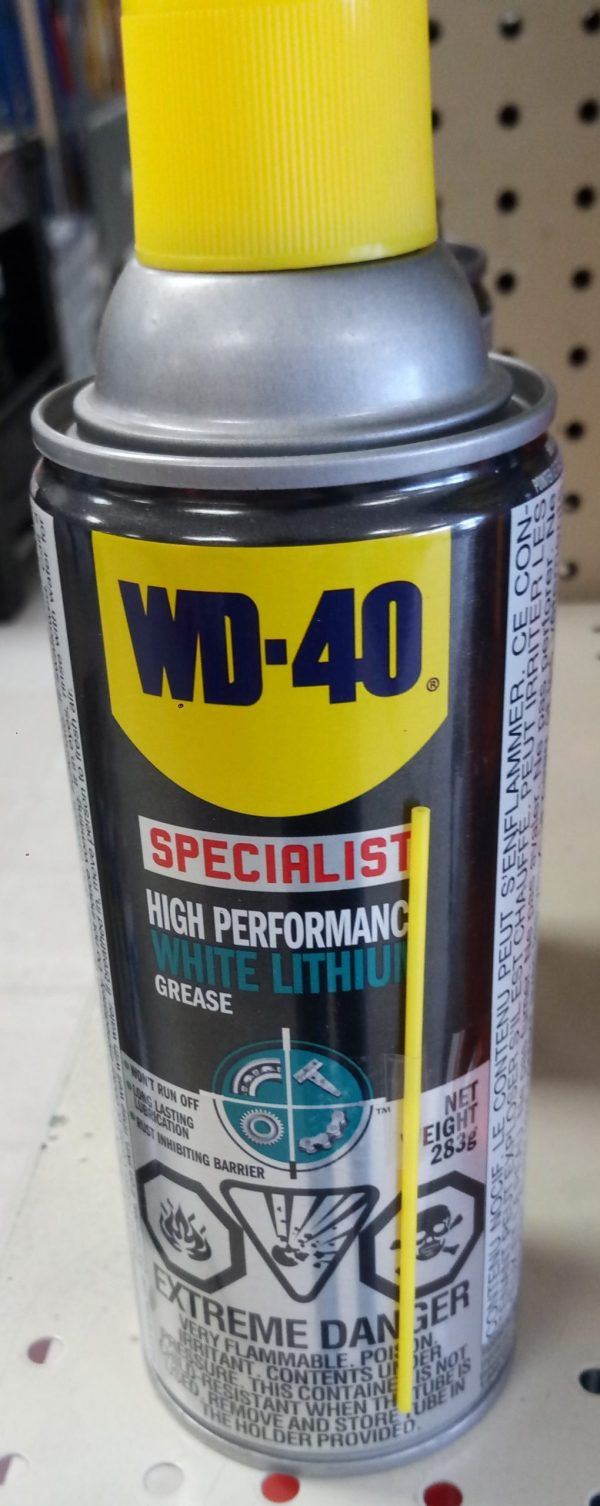 WD 40 at Kelly Lake