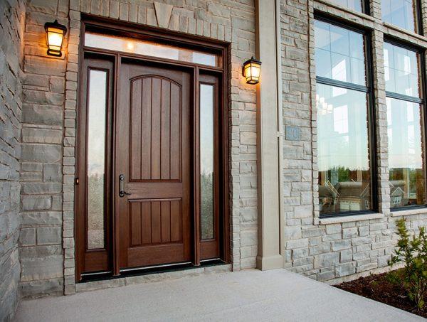 Doors at Kelly lake