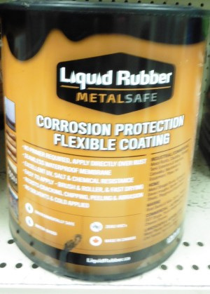 Corrosion Protection by Liquid Rubber