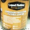 Liquid Rubber at Kelly Lake