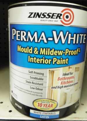 Zinsser – Bathroom/Kitchen Paint