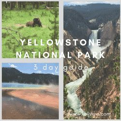 Yellowstone National Park 3 day trip