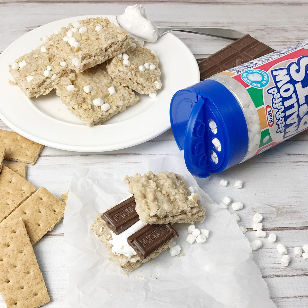 Graham Cracker No Bake S'mores Cookie Sandwiches - Kelly ...
