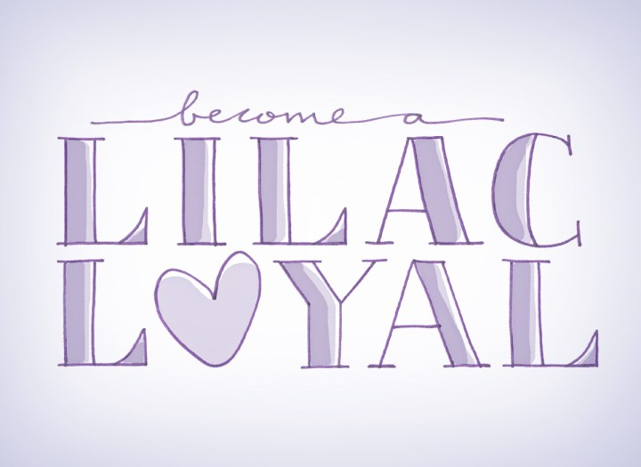 hand drawn title saying become a liiac loyal